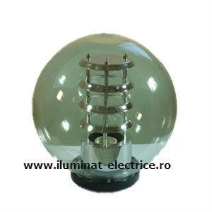 Glob de exterior cu reflector si suport Ø300