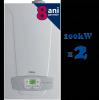 Centrale termice 2x 100 kw in condensare luna duotec mp ht 1.110 -