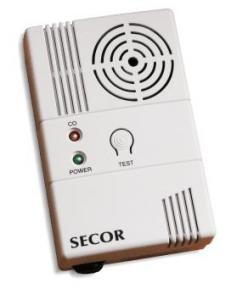 Detector de monoxid de carbon SECOR 2000C