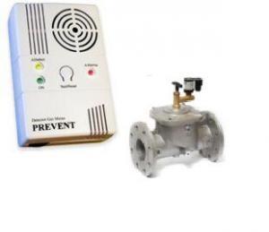 Detector cu electrovana pentru gaz