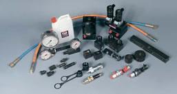 Furtunuri, valve si accesorii pentru scule hidraulice de ridicat