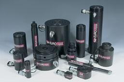 Cilindri hidraulici pentru ridicare de greutati mari de la 5 - 500 tone
