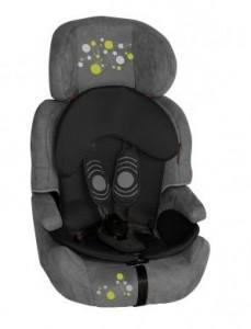 "SCAUN AUTO UNO Grey & Black ""Circles"" (9-36 Kg.), 1007036 1430"