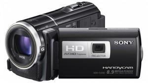 Camera video sony hd