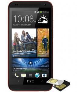 Telefon  HTC Desire 601, 3G, Dual Sim, rosu 85828