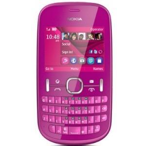 200 asha pink nokia