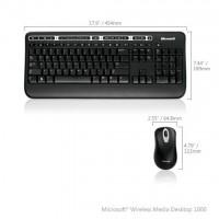 Kit tastatura&mouse desktop media 1000