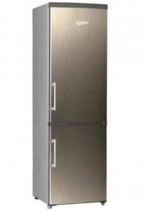 Combina frigorifica Albatros 310(226+84) l, usi inox, CFX40A+