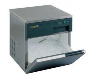 Ice-Cube Maker tropicalizat, carcasa si usa de otel, produce 2000 cuburi de gheata pe 24 h, Whirlpool Pro, AGB 022