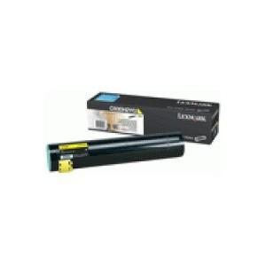 Toner lexmark c930h2yg 24k yellow