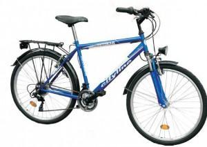Bicicleta DHS 2631 - 18V model 2012-Albastru