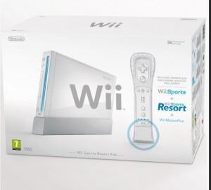 Consola Wii Sports Resort Pak White, NIN-WI-SPRWPAK