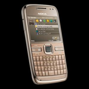 Telefon mobil Nokia E72 Topaz Brown, NOKE72GSMBRWN