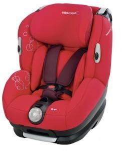 Fotoliu Auto Bebe Confort, Opal, INTENSE RED, 85255950