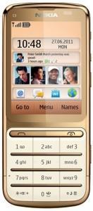 Nokia c3 gold edition