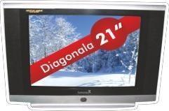 Televizor CRT Serreno, 21 inch, Normal Flat, telecomanda, SER 21N-A8