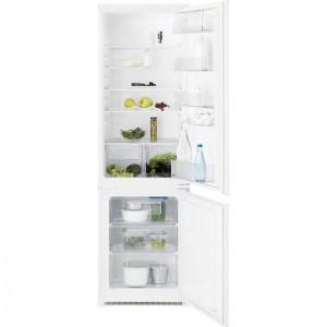 Combina frigorifica incorporabila Electrolux, Volum brut 280 litri, ENN 2800BOW