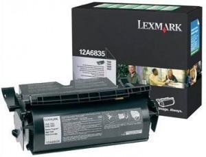 Lexmark toner 12a6835 negru