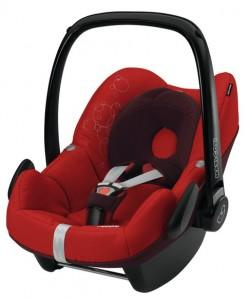 Cos Auto Maxi Cosi Pebble, INTENSE RED, 63005950