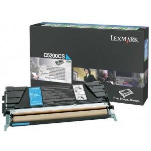 Toner lexmark cyan c5200cs
