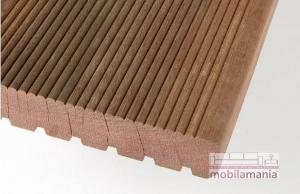 Podea de lemn pentru terasa/outdoor de esenta exotica MASSARANDUBA