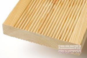 Podea de lemn pentru terasa/outdoor de esenta rasinoasa LARICE