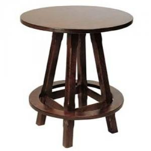 Masa rotunda din lemn pentru cafenea MAASTRICHT