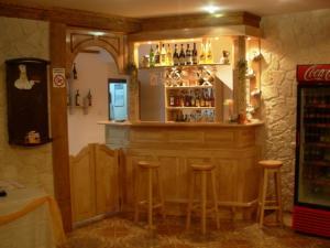 Suport sticle inox pentru bar