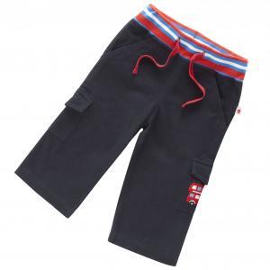 Pantalonas   bleumarin in stil britanic pentru baieti