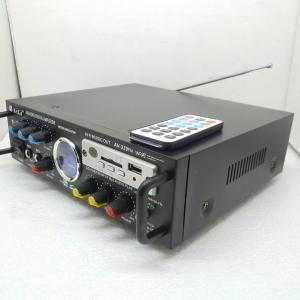 Amplificator pentru sunet instalat