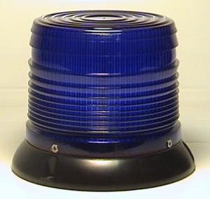 Girofar albastru flash