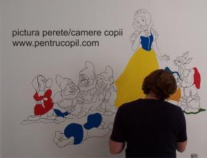 Pictura pereti camere copii