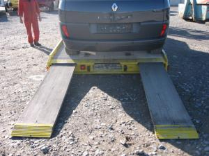 Platforma transport auto bacau