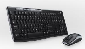Tastatura Logitech Cordless Desktop MK260 Negru
