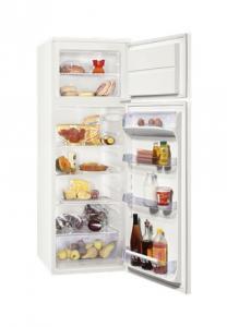 Combina frigorifica Zanussi ZRT628W, 265 l, Clasa energetica A+, Alb