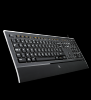 Tastatura logitech illuminated usb 920-001175 negru