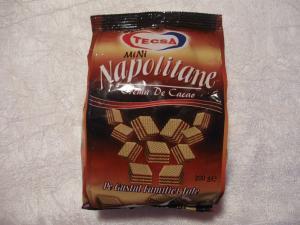 Napolitane cu crema cacao