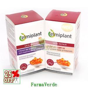 Crema Antiimbatranire de zi Elmiplant Skin Repair SPF 15 50 ml