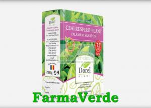 Ceai Respiro-Plant Plamani Sanatosi 150 gr Dorel Plant