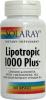 Lipotropic1000 Plus 100 Cps-Slabire-Colesterol Solaray Secom