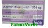 Diosmin + hesperidina 500 mg 30 tablete filmate
