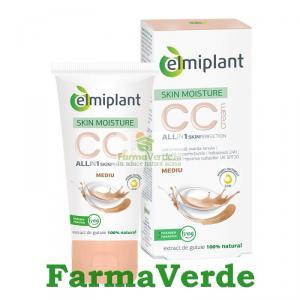 CC Cream Mediu Crema SKin Moisture 25+ 50 ml Elmiplant