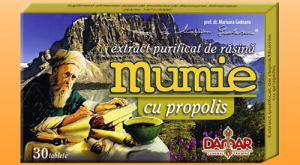 Mumie - Extract Purificat de Rasina Mumie cu Propolis DAMAR