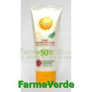 Crema ultraprotectoare SPF50 100ml Gerovital Sun Farmec