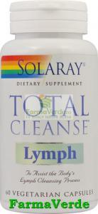 Total Cleans Lymph Detoxifiere 60 capsule Solaray Secom
