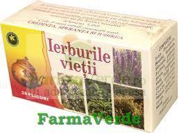 Ceai Ierburile Vietii 20 doze Hypericum Impex Plant