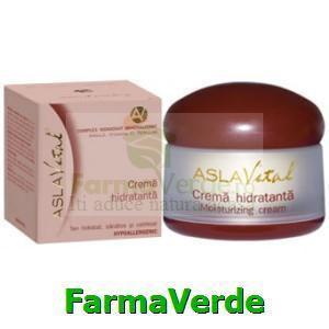 Crema hidratanta argila 50ml Aslavital Farmec