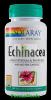 Echinacea 100 capsule solaray secom