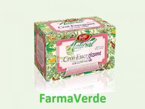 Ceai Natural Energizant Ceai Verde 20 doze Fares