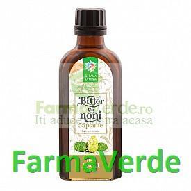 Bitter cu Noni 55 plante 100 ml Steaua Divina